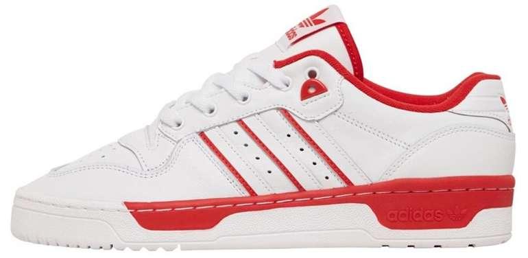 """Adidas Originals Rivalry Low Herren Sneaker im """"White/Red""""-Colourway für 49,44€ inkl. Versand"""