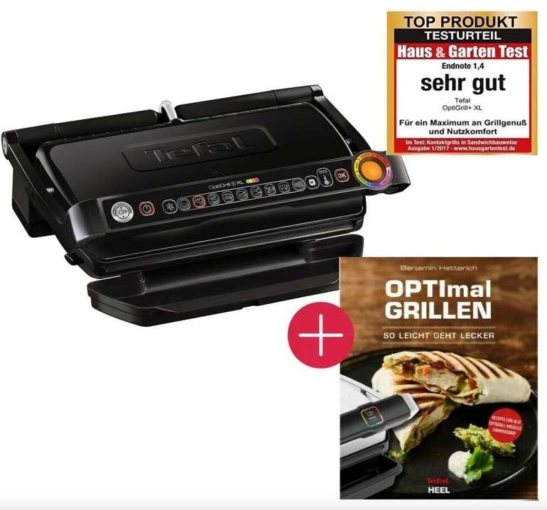 Tefal GC7228 OptiGrill+ XL Kontaktgrill mit 9 Grillprogrammen + Rezeptbuch für 144,44€ (statt 158€)