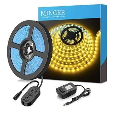 Minger 5M dimmbare LED-Streifen mit 300 LEDs für 9,59€ inkl. Prime Versand