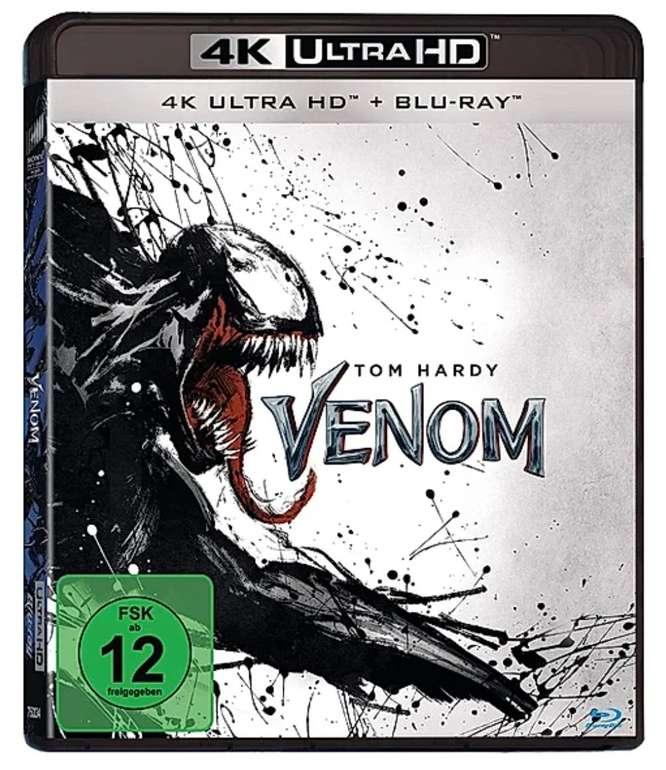 Venom (4K Blu-ray + Blu-ray) für 11,99€ inkl. Versand (statt 18€) -  Newsletter Gutschein!