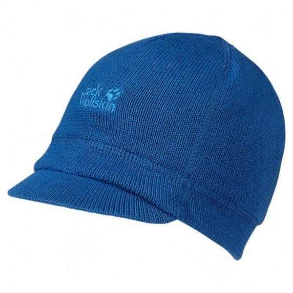 Jack Wolfskin Kindermütze 'Kid's Shield Cap' in blau für 7,54€ inkl. VSK