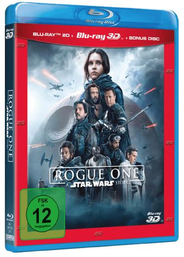 Rogue One: A Star Wars Story [3D Blu-ray +2D] für 12€ inkl. Versand (statt 17€)