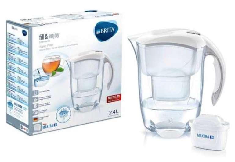 Brita 076412 Elemaris Cool White Maxtra Wasserfilter und Maxtra+ Kartusche für 20,69€ (statt 29€)
