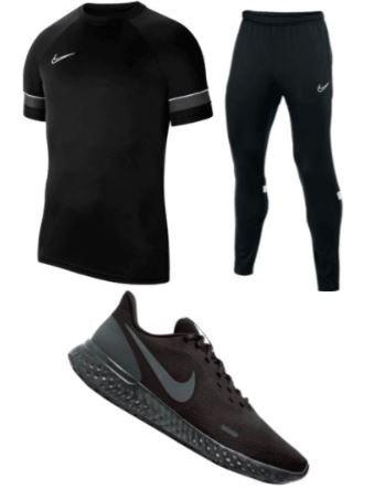 Nike Trainingsoutfit Academy 21 (3-teilig) für 74,95€ inkl. Versand (statt 81€)
