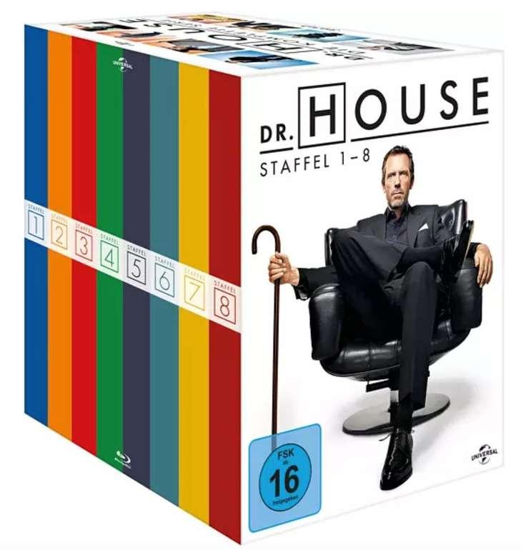 Dr. House - Die komplette Serie (Staffel 1-8) auf Blu-ray für 56,88€ inkl. Versand (statt 75€)