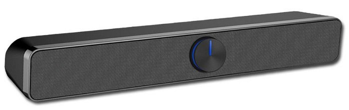 SADA USB Soundbar mit 3,5mm Klinkenanschluss für 17,99€ inkl. VSK