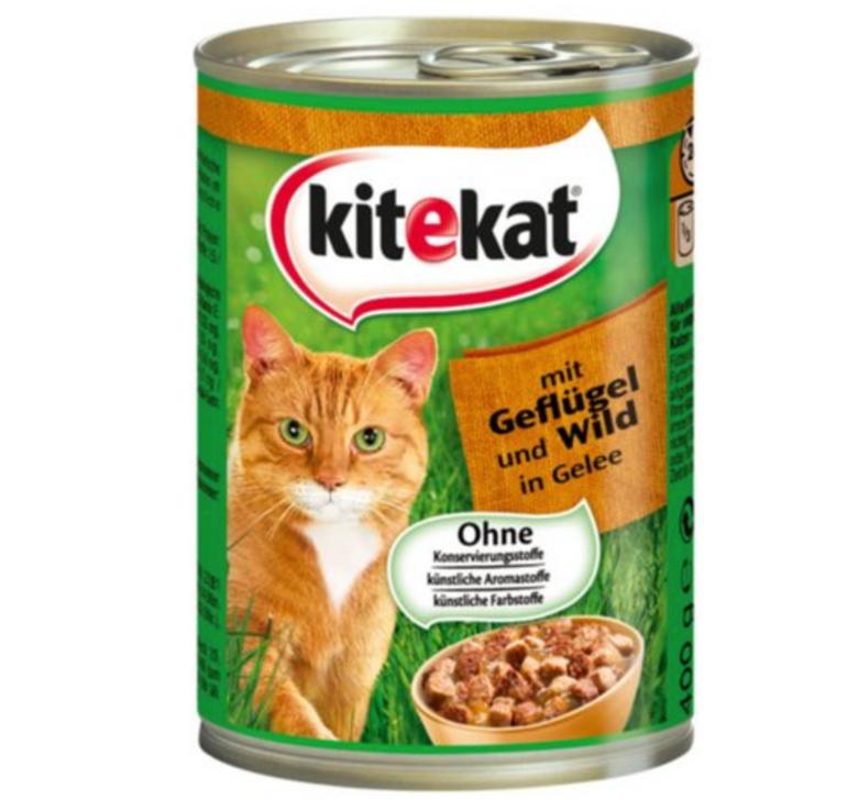 Katzenfutter: 12er Pack Kitekat in Gelee (je 400g) für 7,11€ inkl. Versand