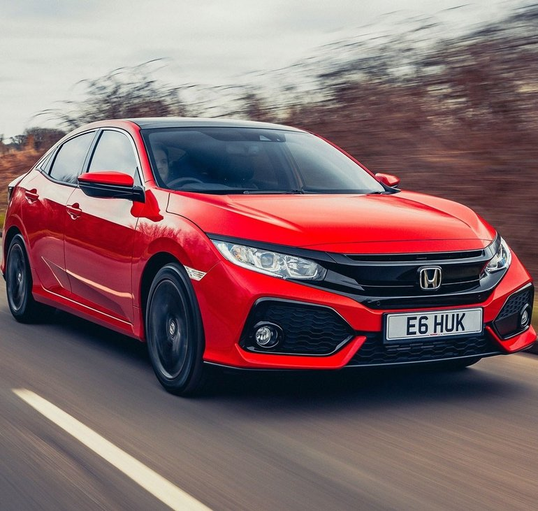 Privat + Gewerbe Leasing: Honda Civic 1.0 VTEC Turbo Comfort für 119€ Brutto mtl. (LF: 0,49)