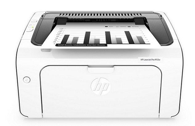 Hewlett-Packard HP LaserJet Pro M12w S/W Drucker (T0L46A) für 55,20€ (statt 71€)