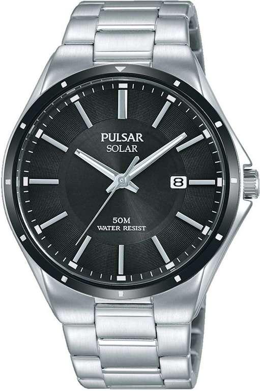 """Pulsar Solaruhr """"PX3145X1"""", zeitlose Herrenarmbanduhr für 89€ inkl. Versand (statt 120€)"""