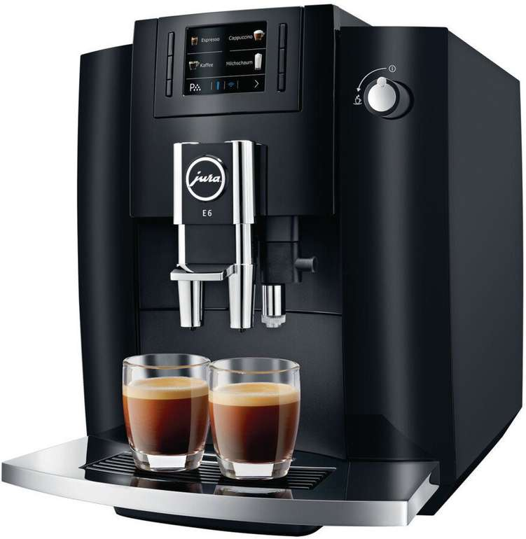 Jura E6 Kaffeevollautomat (2019) für 599,99€ inkl. Versand (statt 699€)