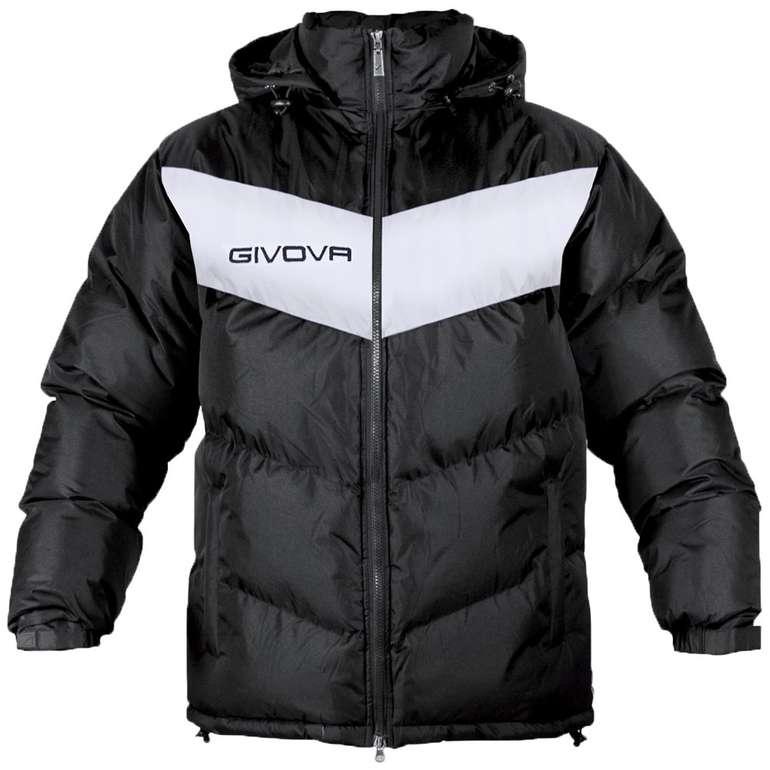 Givova Winterjacke Giubbotto Podio in Schwarz für je 31,94€ inkl. Versand (statt 40€)