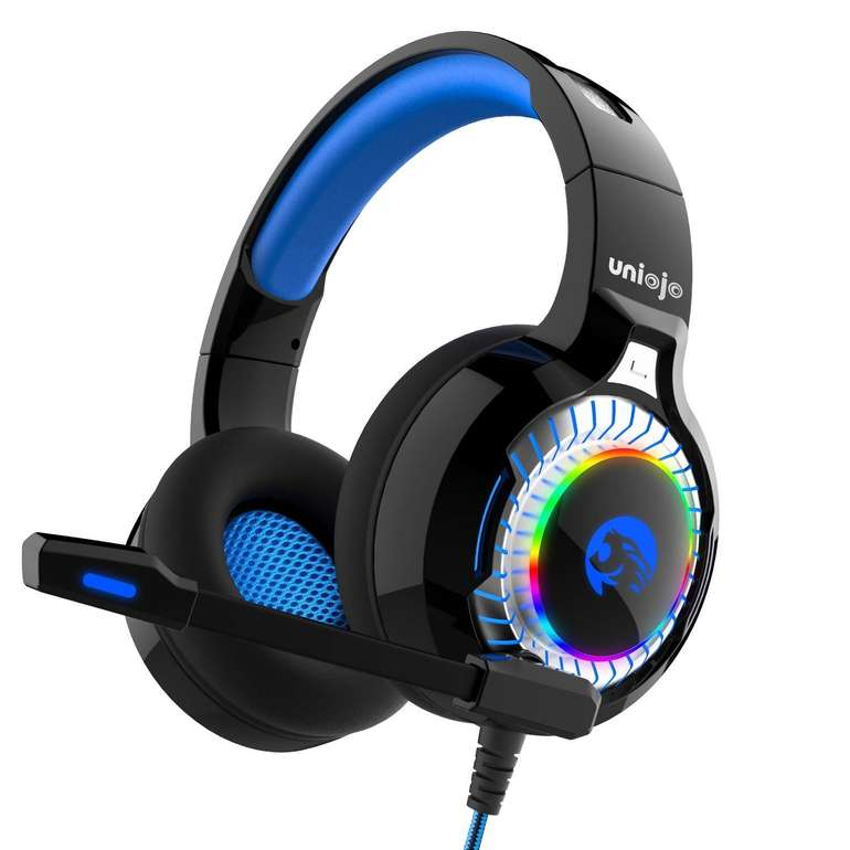 Uniojo Surround Stereo Gaming Headset für 12€ inkl. Prime Versand (statt 17€)