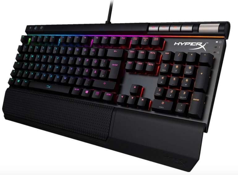 Kingston HyperX Alloy Elite RGB-MX Cherry MX Red Gaming Tastatur für 92,61€ inkl. Versand (statt 143€)