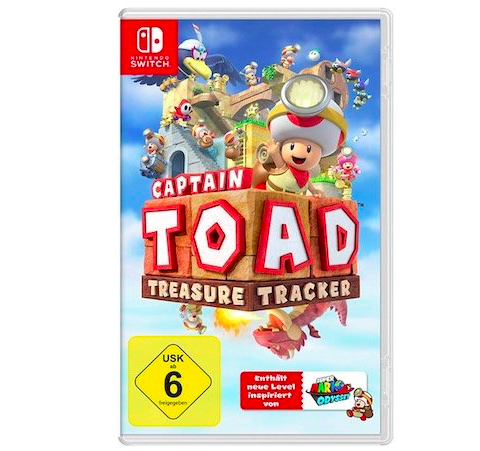 Captain Toad: Treasure Tracker (Nintendo Switch) für 29€ inkl. VSK (statt 35€)