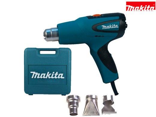 Makita HG551VK Heißluftpistole variabler elektrischer Drehzahlregelung in 10 Stufen für 55,90€ inkl. VSK (statt 66€)