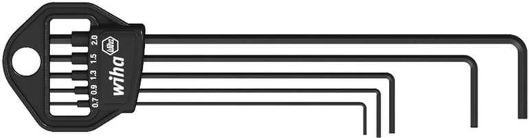 Wiha 5-teiliges Stiftschlüssel Set im Classic Halter Sechskant brüniert (06382) für 4,45€ inkl. Prime Versand (statt 7€)