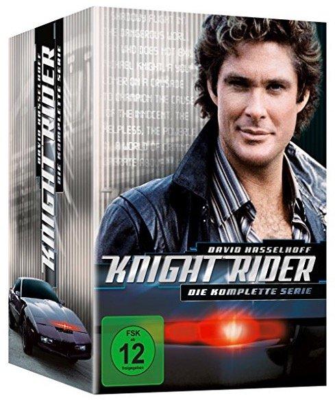 Knight Rider - Die komplette Serie auf DVD für 23,22€ inkl. Versand