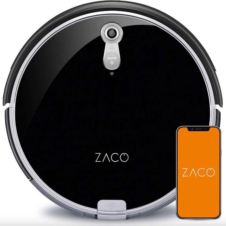 Zaco A8s Saug- & Wischroboter (Kamera & Sensoren zur Kartenerstellung, bis 160min Akku, App, Alexa) für 189€