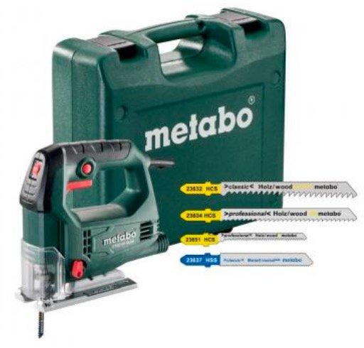 Metabo STEB 65 Quick Stichsäge Set (mit Koffer) + 20 Sägeblätter für 54,89€ inkl. Versand (statt 81€)