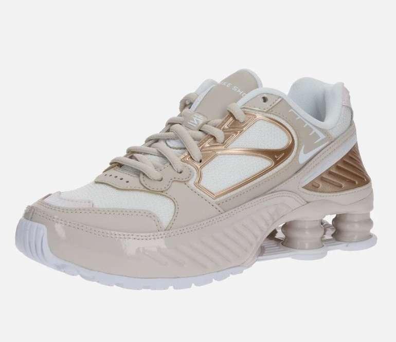 Nike Sportswear Damen Sneaker 'Shox Enigma 9000' in beige / weiß für 75,92€ (statt 91€)