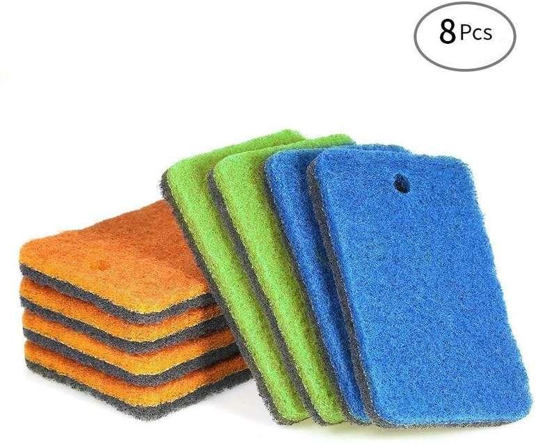 Esonmus 8er Pack doppelseitige Putzschwämme für 6,99€ inkl. Prime VSK