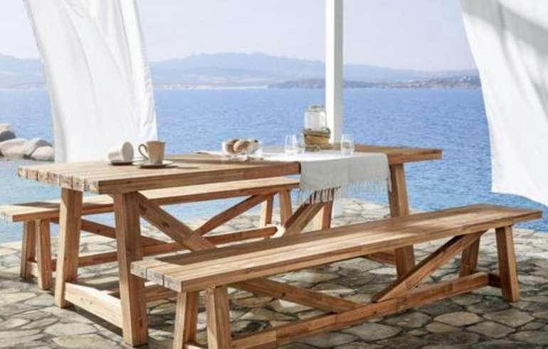 Bessagi Gartenbank Antigua aus Akazienholz für 186,75€ inkl. Versand (statt 250€)