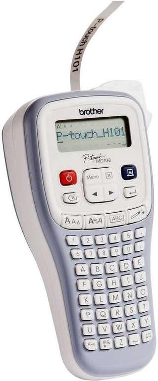 Brother P-touch H101GB Beschriftungsgerät (TZe-Bänder von 3,5 - 12 mm Breite) für 21,99€ (statt 25€)