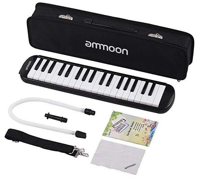 Ammoon Melodica mit 37 Tasten für 21,74€ inkl. Versand (Prime)