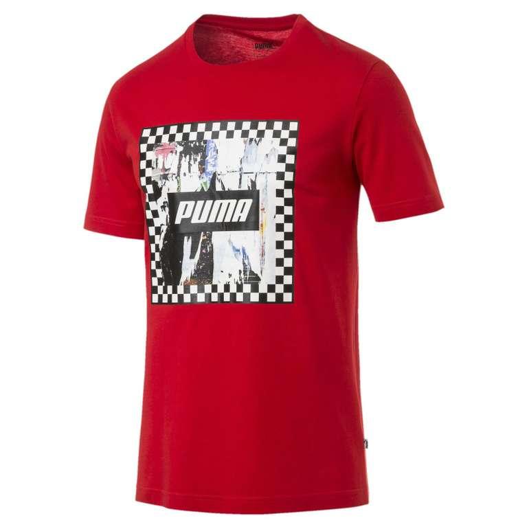 Puma Check Graphic Herren T-Shirts in 3 Farben für je 12,90€ (statt 16€)