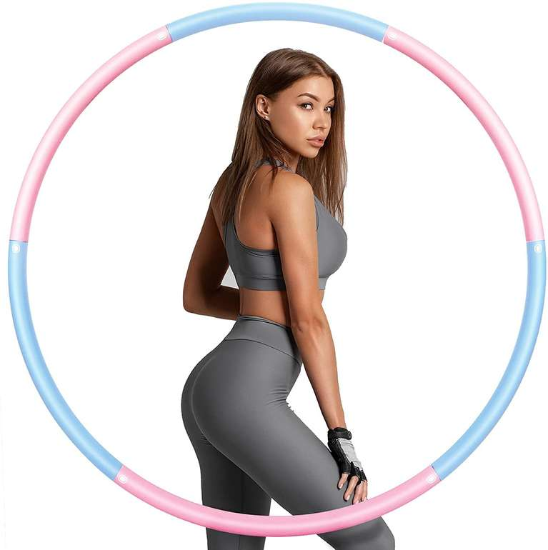 Sinocare Hula Hoop Reifen für 7,49€ inkl. Prime Versand (statt 16€)
