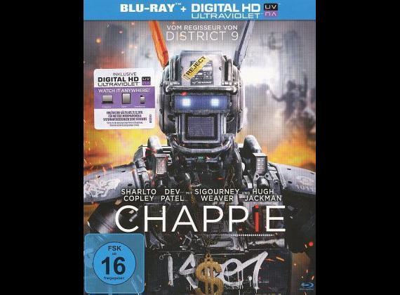 Chappie (Mastered in 4K) [Blu-ray] für 4,78€ inkl. Versand (statt 8€)