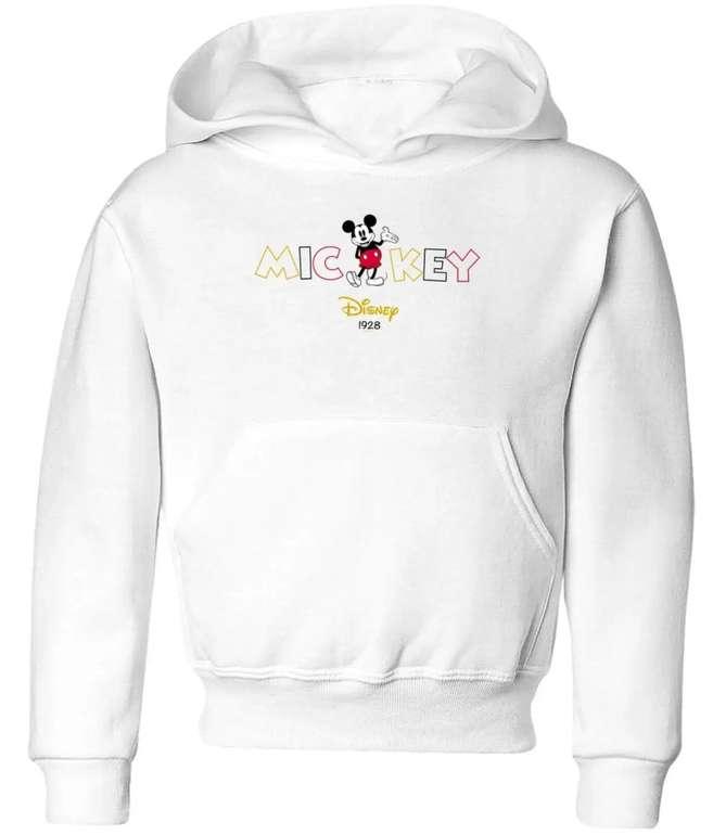 Disney Kinder Hoodie (3 - 12 Jahre, verschiedene Modelle) für je 17€ inkl. Versand (statt 32€)