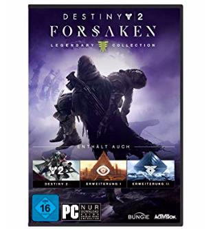 Destiny 2: Forsaken Legendary Collection [PC] zu 24,97€ inkl. Prime (statt 32€)