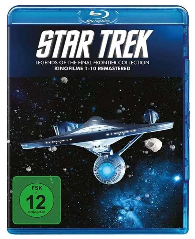 Star Trek Kinofilme I-X (1-10) Remastered (Blu-ray) für 30,79€ inkl. Versand (statt 40€)