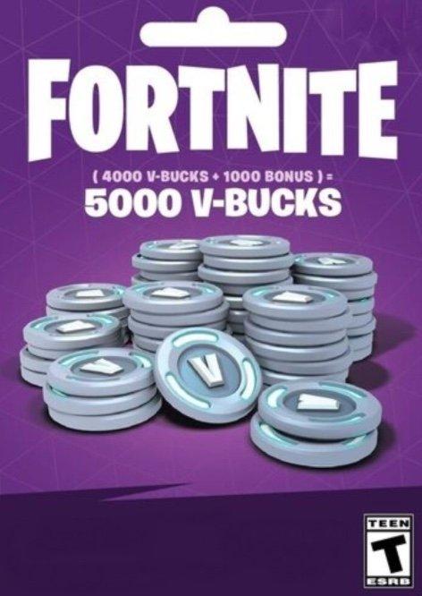 Fortnite - 5000 V-Bucks (PC) für 26,99€ (statt 32€)