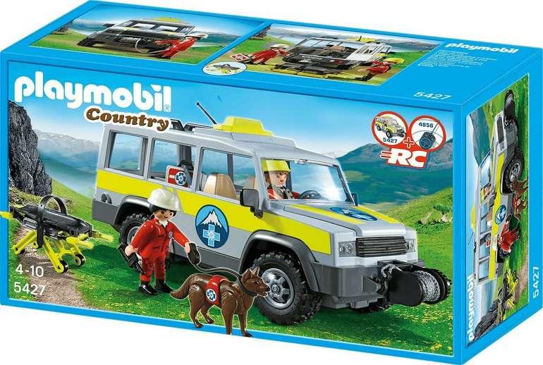 Playmobil Country - Einsatzfahrzeug mit Bergrettung (5427) für 29,94€ inkl. Versand (statt 35€)