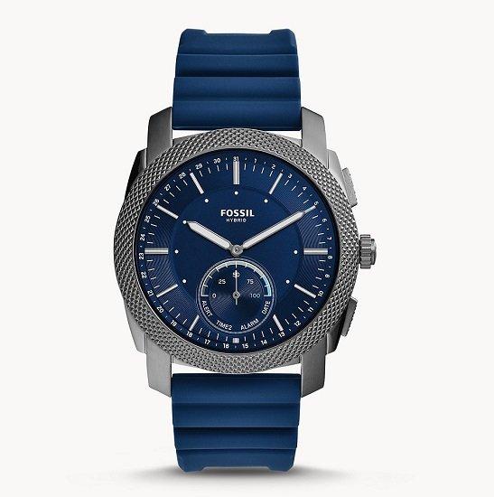 Fossil FTW1195 Machine Hybrid Smartwatch mit Silikon-Armband für 100,30€ (statt 135€) - Newsletter!