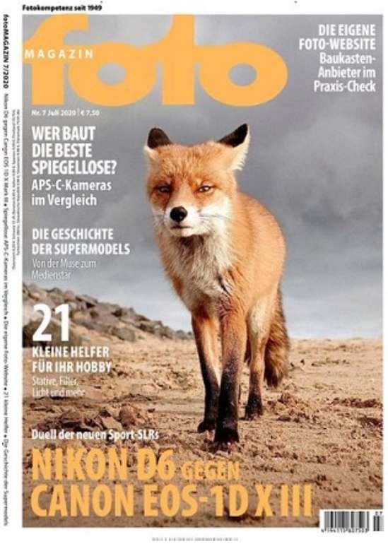 Halbjahres-Abo: 6 Ausgaben foto MAGAZIN für 48€ + z.B. 20€ Bestchoice Gutschein