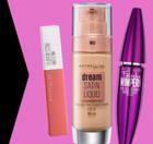 Mega Make Up Woche bei ROSSMANN - 20% Rabatt auf Maybelline & Rival Produkte
