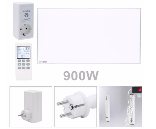 Vingo 900W Infrarot Heizpanel mit Thermostat für 112,69€ (statt 161€)