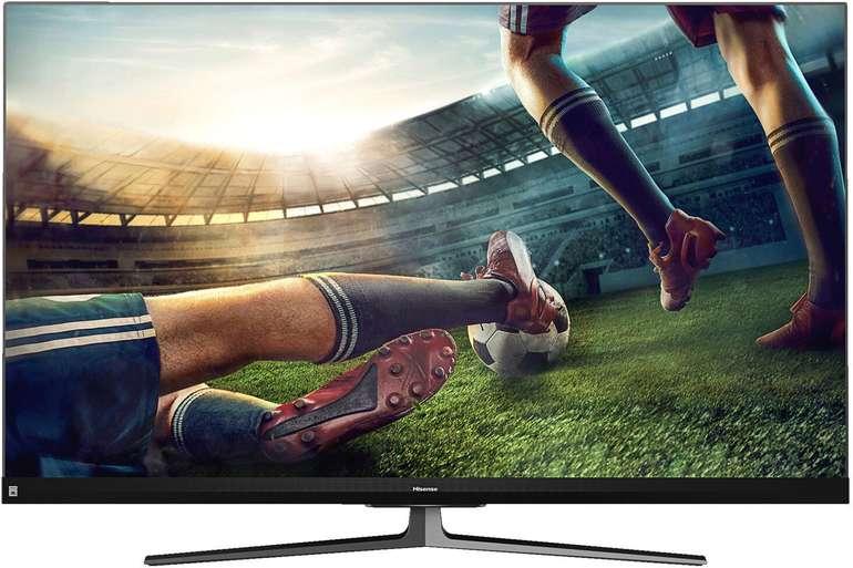 Hisense 55U8QF - 55 Zoll 4K UHD QLED Smart TV für 699€ inkl. Versand (statt 799€)