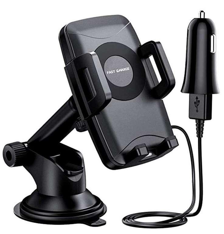 Mpow Wireless Charger und Handyhalter für's Auto nur 12,99€ inkl. Versand (statt 30€)