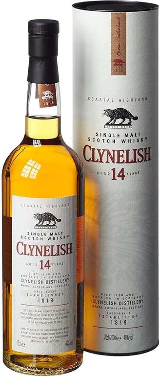 Clynelish 14 Jahre Single Malt Scotch Whisky (1 x 0.7 l) für 28,99€ (statt 37€)