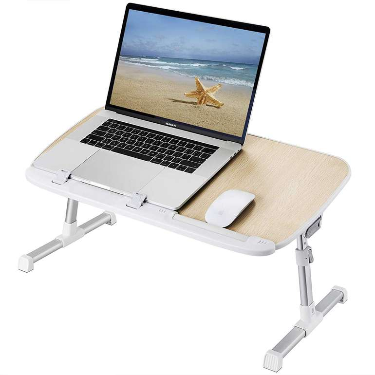 Utaxo höhenverstellbarer Laptoptisch in 2 Farben für je 22,99€ inkl. Prime VSK