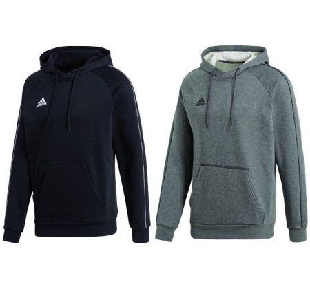 adidas Core 18 Hoody (Schwarz oder Grau) für 16,76€ inkl. VSK