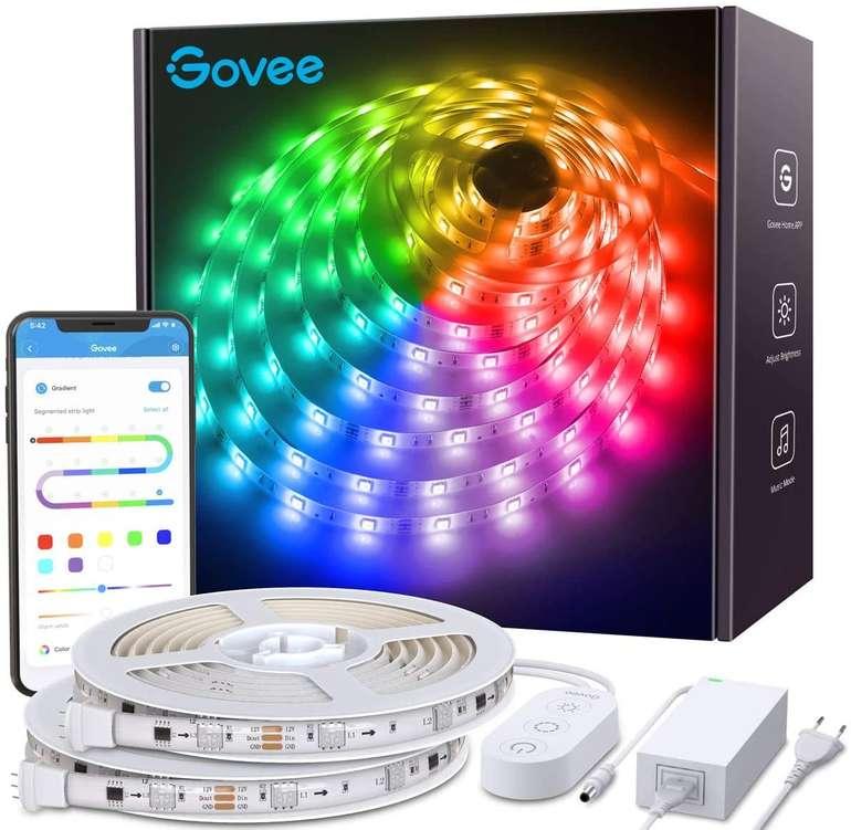 Govee 2 x 5m Dreamcolor LED Streifen mit Music Sync für 31,95€ inkl. Versand (statt 47€)
