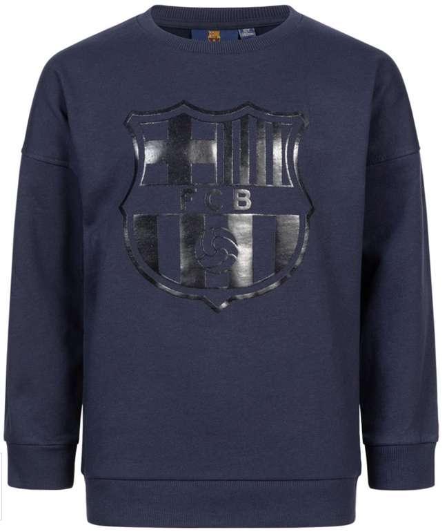 FC Barcelona Black Crest Kinder Sweatshirt in Blau für 16,94€ inkl. Versand (statt 20€)