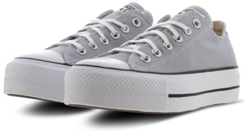 Converse Chuck Taylor All Star Platform Low in grau für 49,99€…