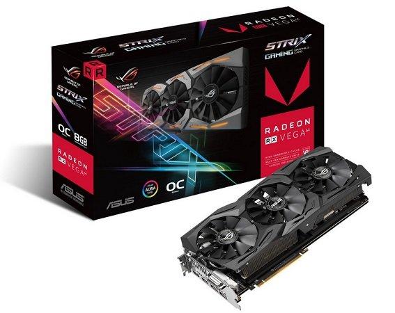 Asus Radeon RX Vega 64 ROG Strix OC 8GB für 319€ inkl. Versand (statt 380€)